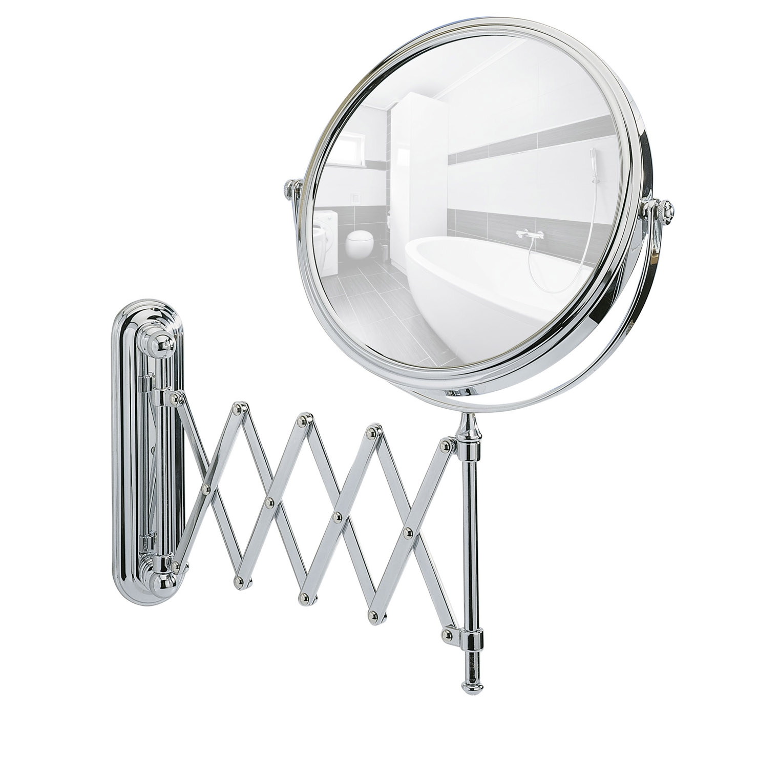 Wenko Deluxe Cosmetic Wall Mirror
