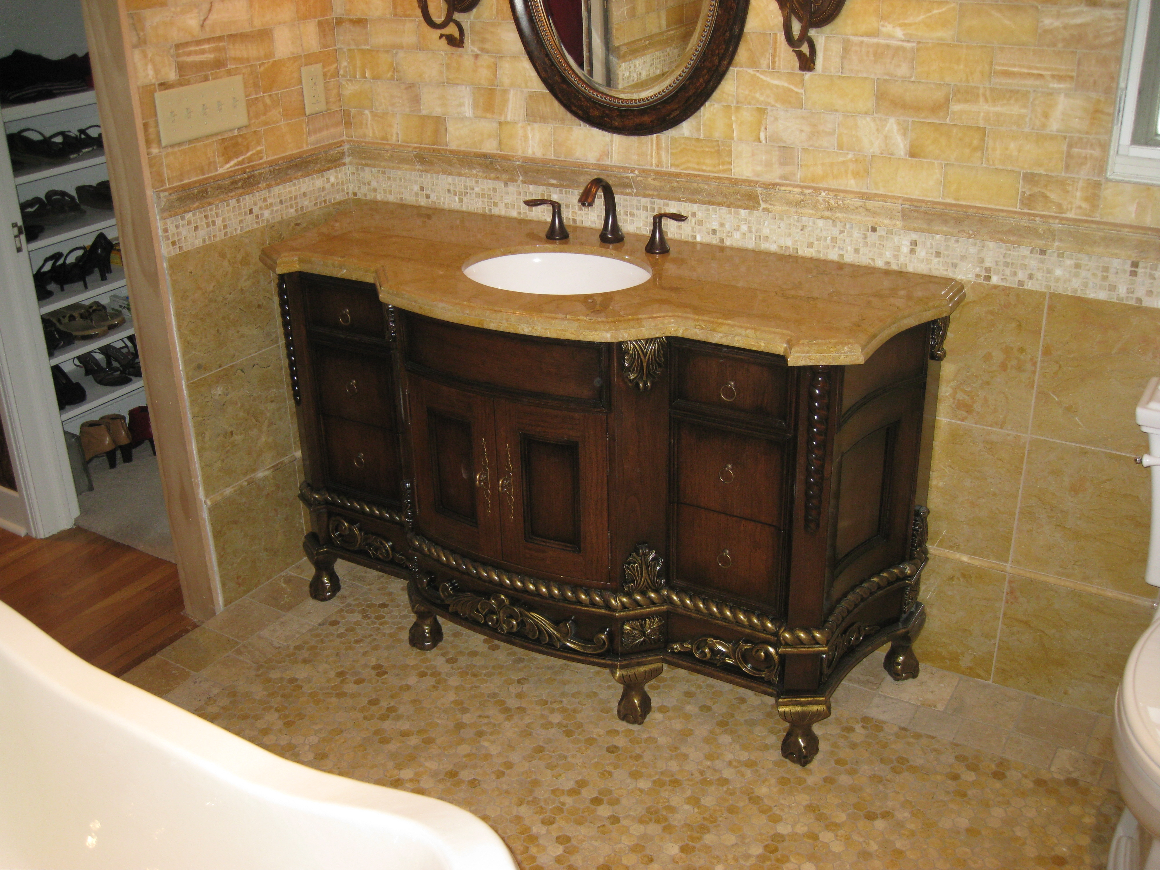 Western Bathroom Vanity Mirrors