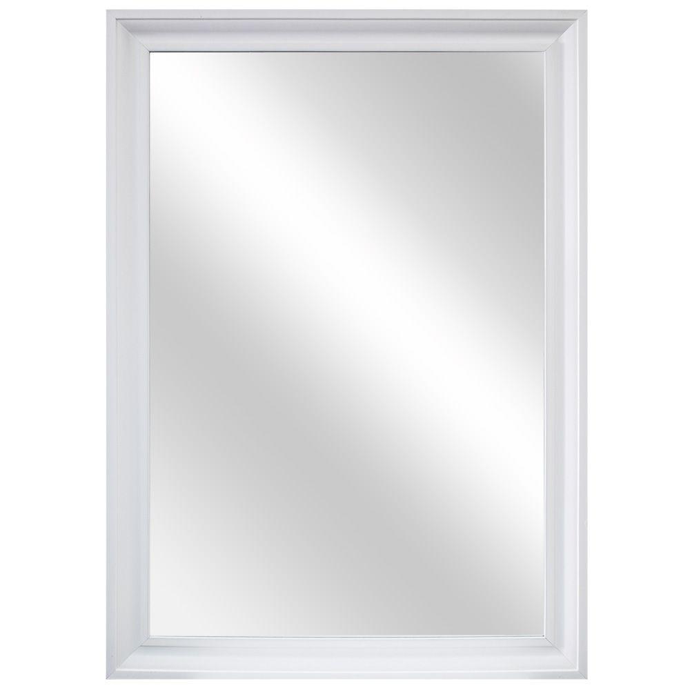 White Frame Wall Mirror