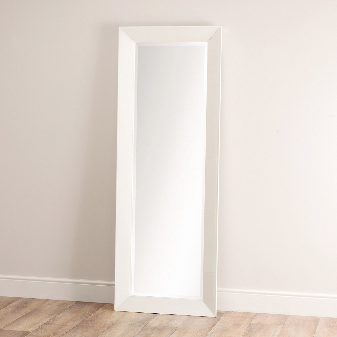 Permalink to White Framed Full Length Wall Mirror
