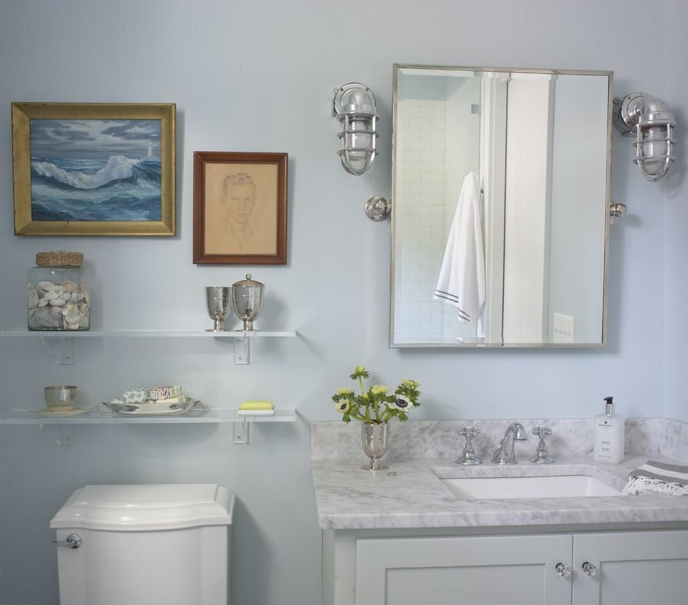 White Nautical Wall Mirror
