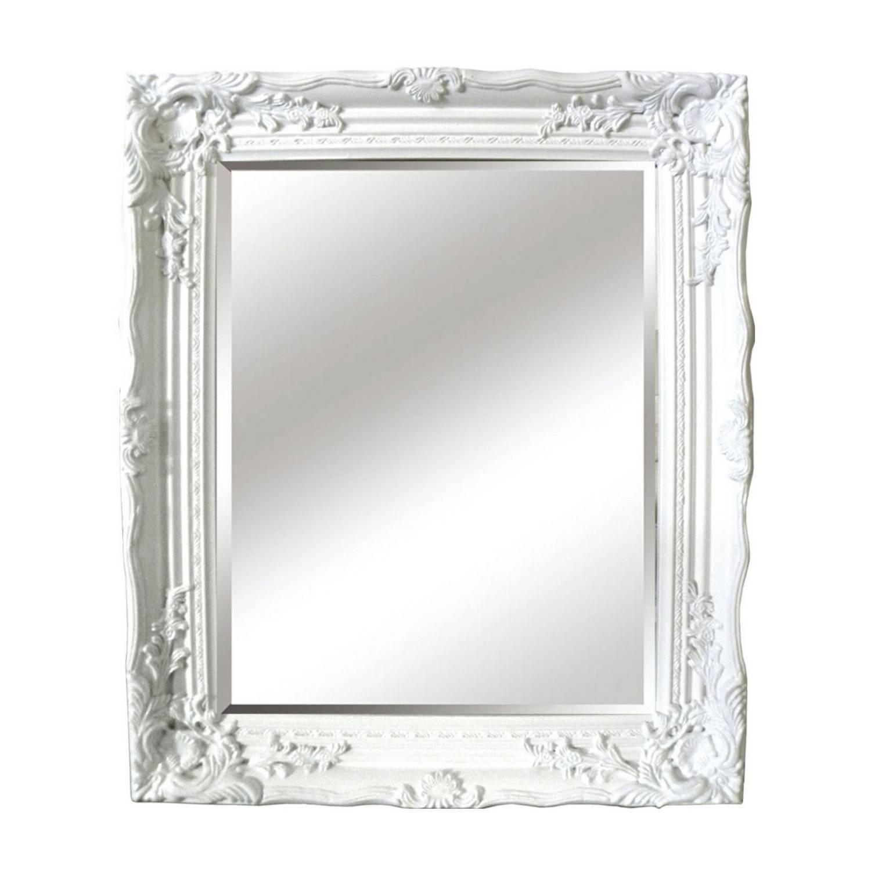 White Ornate Bathroom Mirrorantique ornate mirror