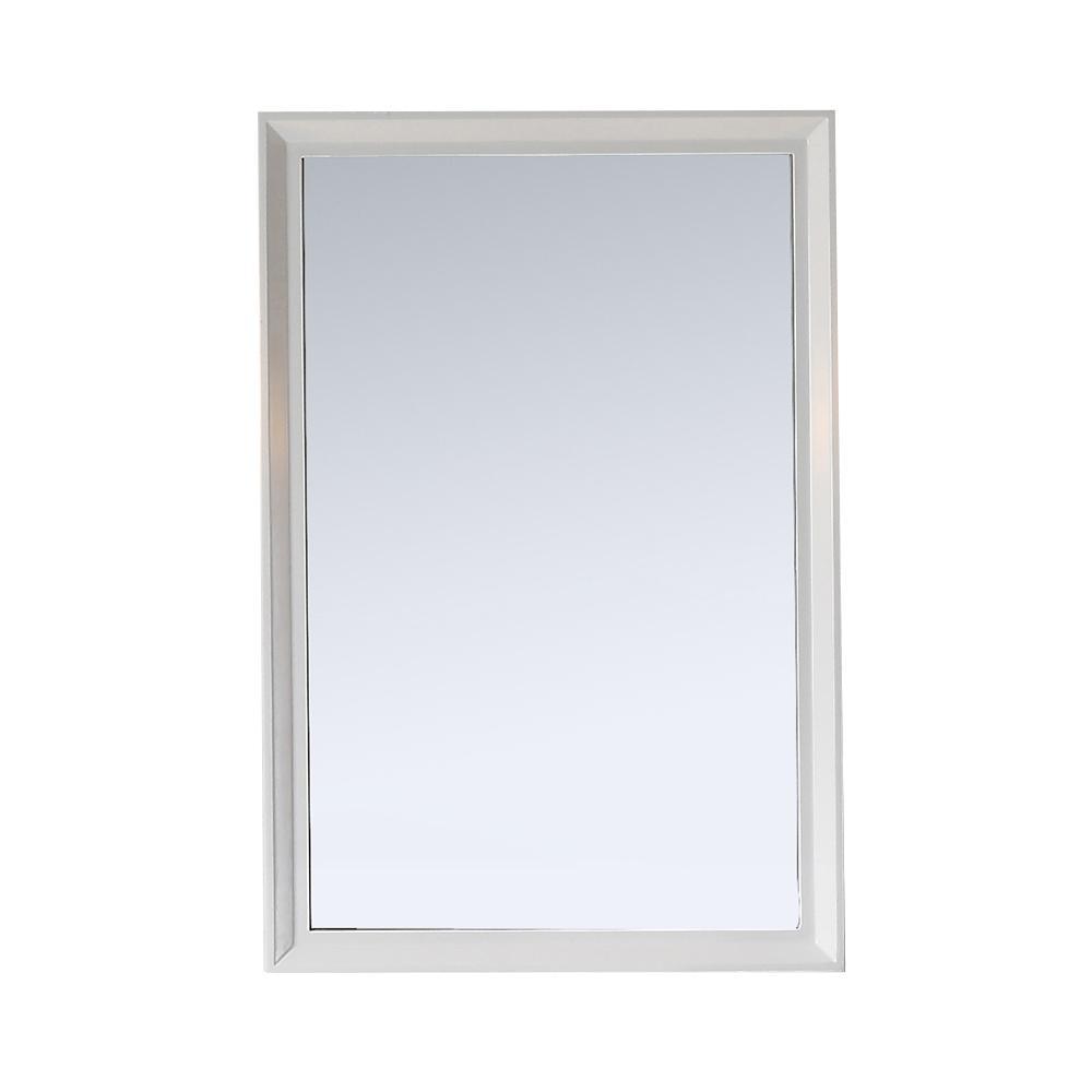 White Wall Mirror 24 X 36 White Wall Mirror 24 X 36 martha stewart living parrish 24 in x 36 in framed wall mirror 1000 X 1000