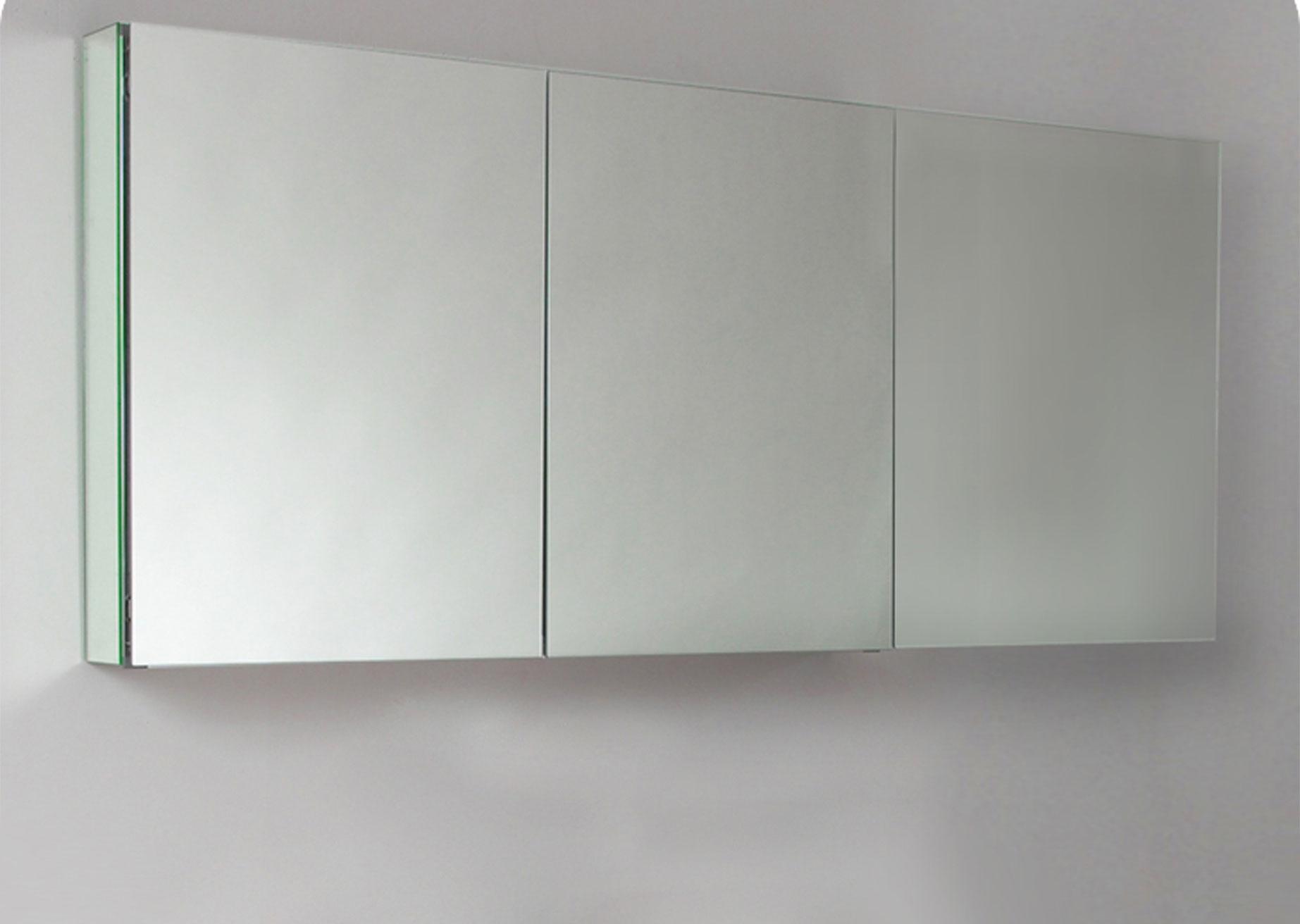 Wide Bathroom Mirror Cabinet
