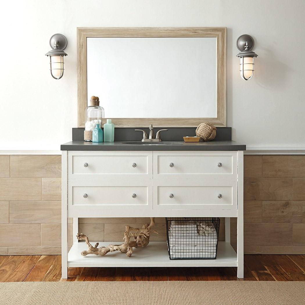 Wooden Bathroom Mirror Frames