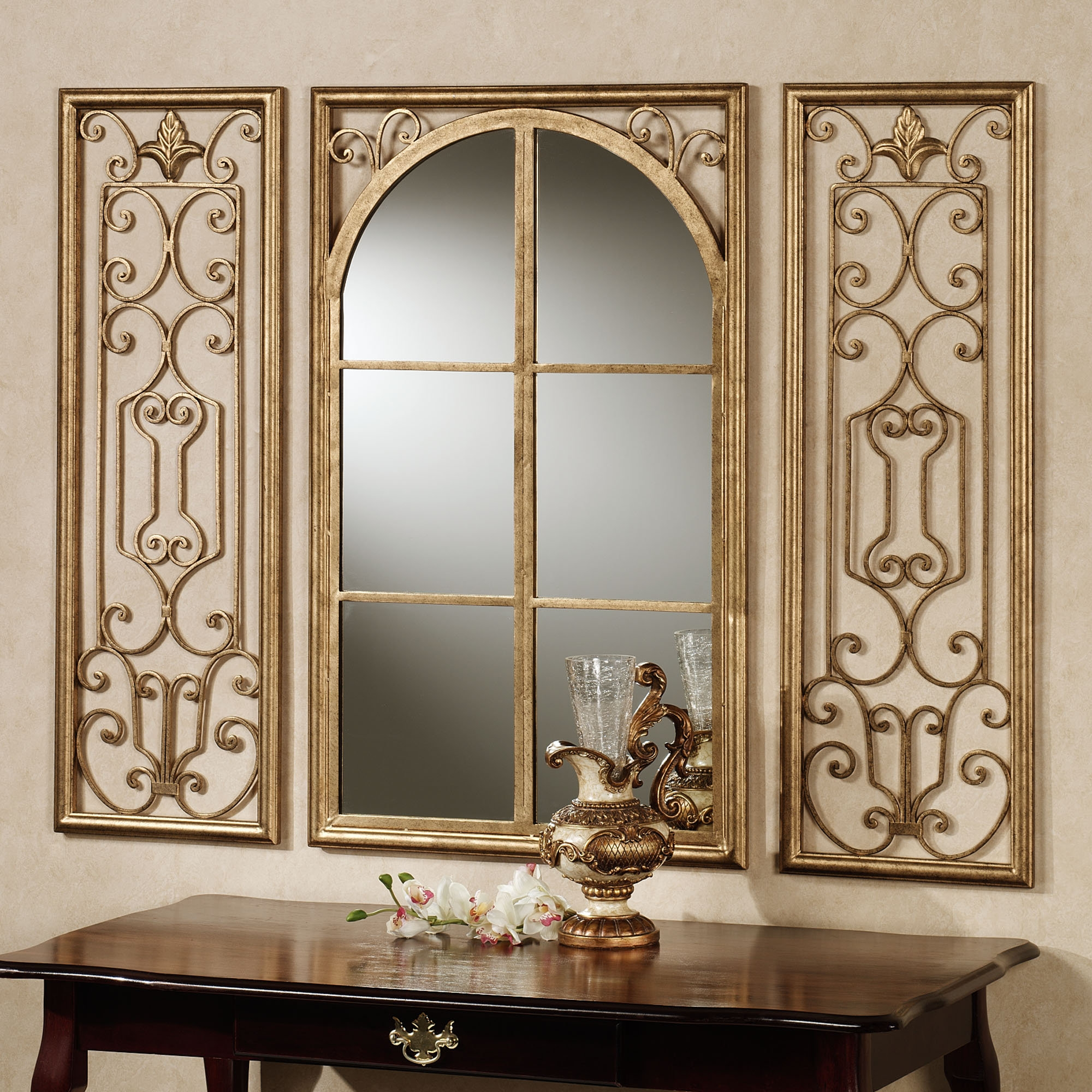 Wooden Wall Mirrors Decorative
