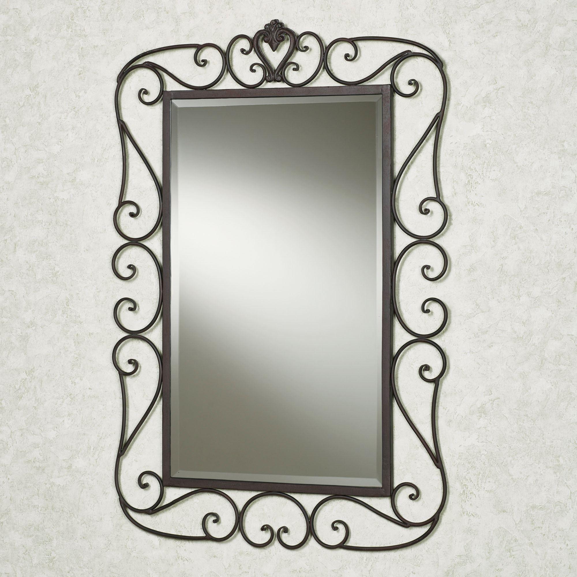 Wrought Iron Wall Mirrors