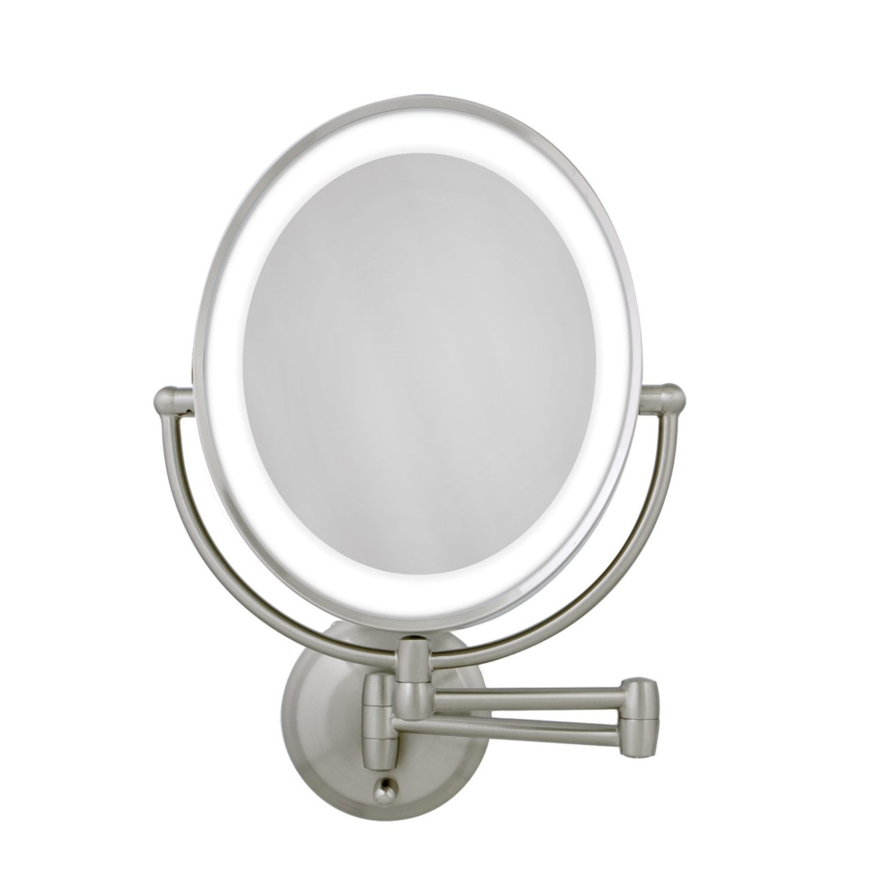 Zadro Lighted Oval Wall Mount Mirror