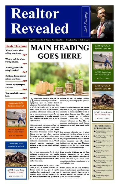 Real Estate Newspapers Print And Digital Makemynewspaper