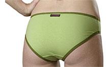 green butt