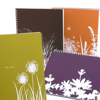 Flora Recycled Notebooks