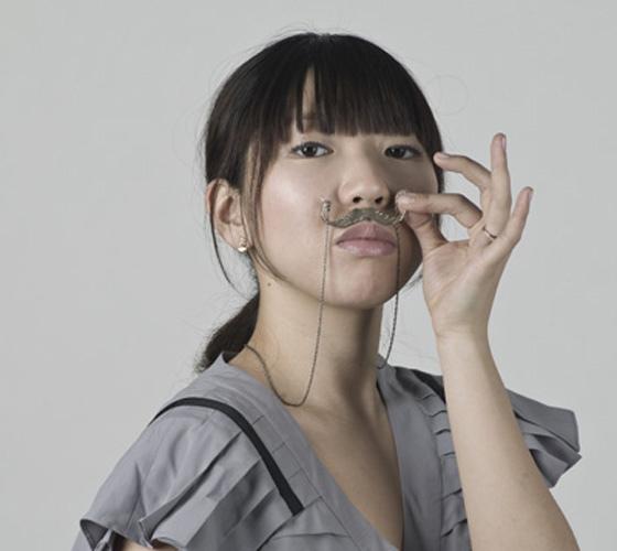 moustacheneclace