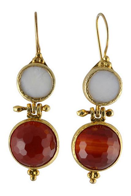 Object Mythology Red Earrings