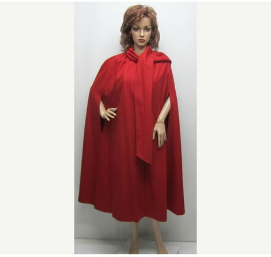 Etsy Red Cape