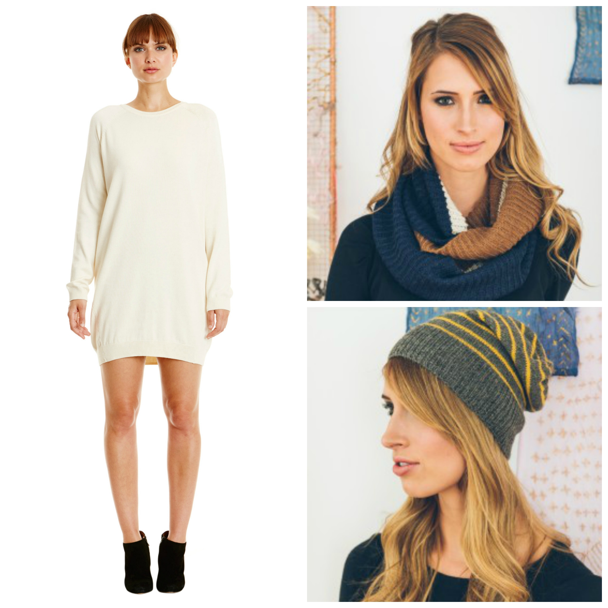 Fall knits collage