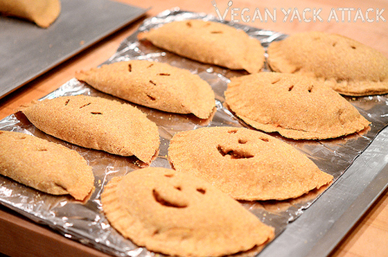 Filling Vegetarian Fall Recipes Pumpkin Empanadas