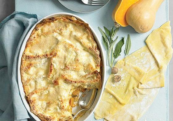 Filling Vegetarian Fall Recipes Squash Lasagna