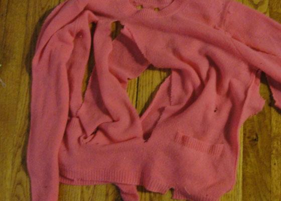 JoeFreshSlashedSweater