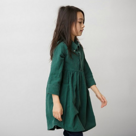 Kallio Girls Long Sleeve Shirt Dress