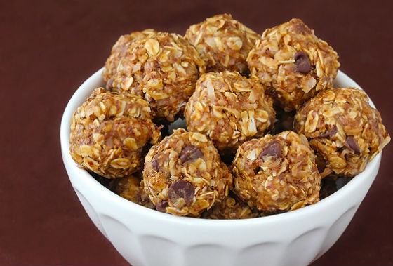 Natural Energy Bars Recipes No-Bake Peanut Butter Bites