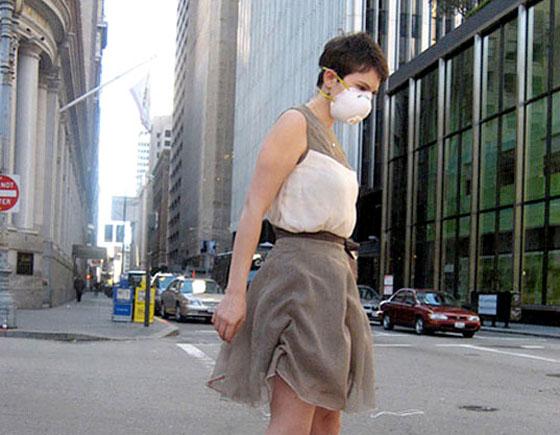 Pollution Fashion EPA Dress