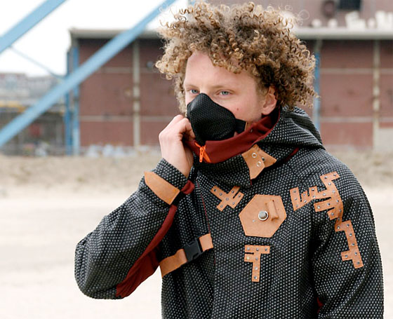 Pollution Fashion Smog Buster Jacket