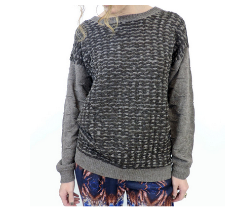 Suzanne Rae box sweater