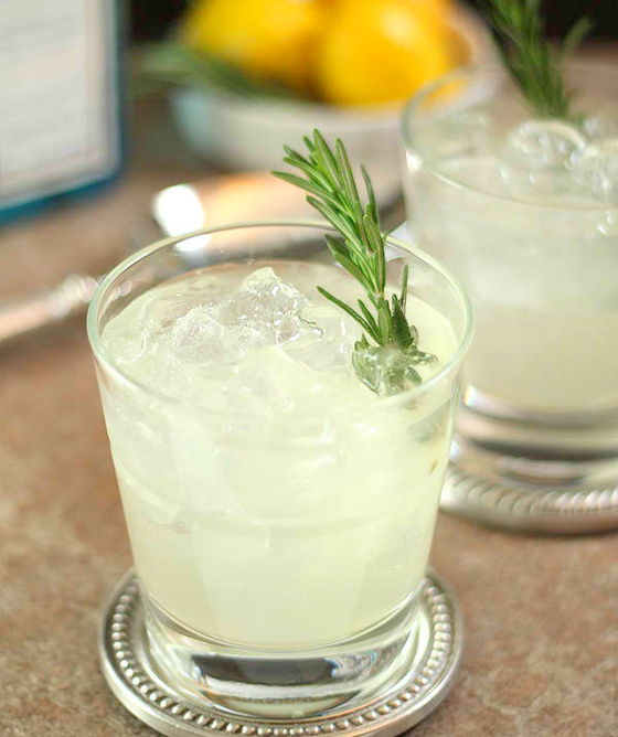 Summer Herb Cocktails Rosemary
