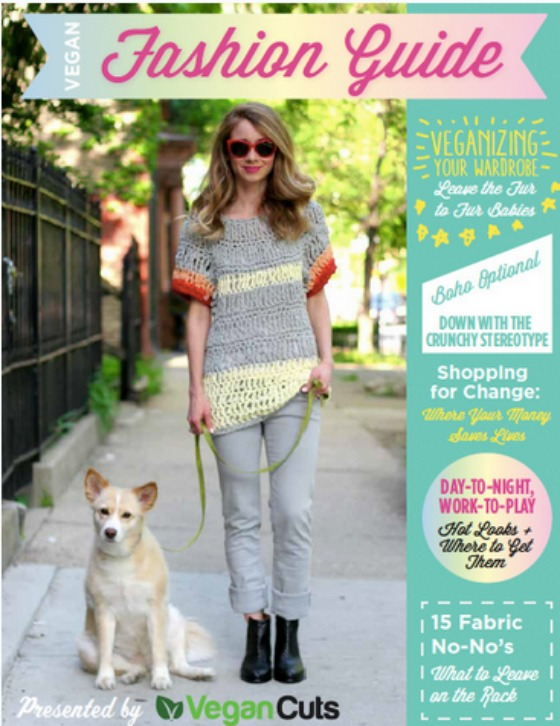 Vegan Cuts Fashion Guide Cover