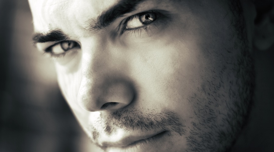 black-and-white-man-person-eyes