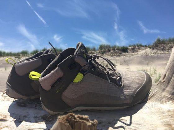 vivobarefoot hiker in block island