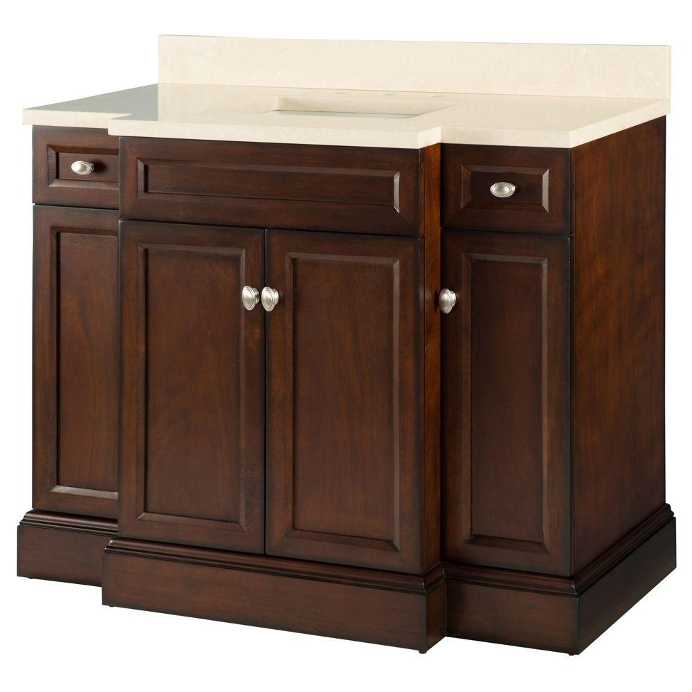 42 Inch Bathroom Vanity Home Depot