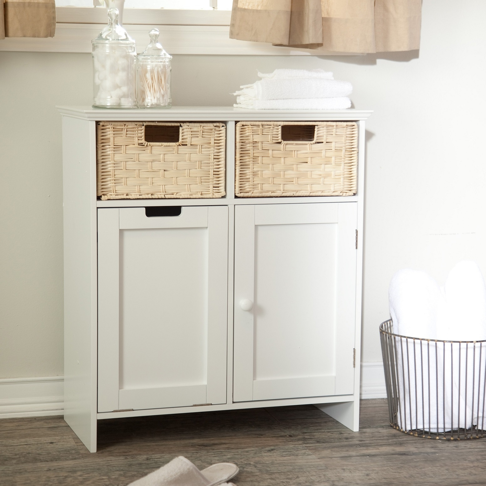 Aristokraft Bathroom Cabinets With Hamper