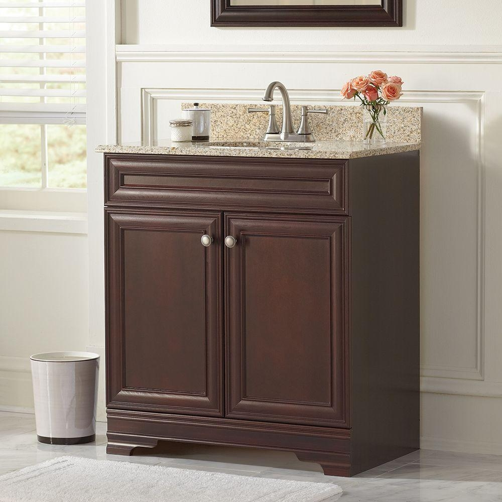 Home Depot Bathroom Vanity Granite