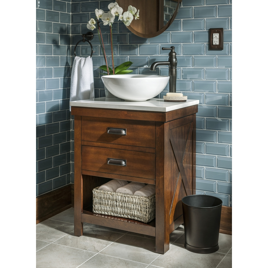 Lowes Bathroom Vanities For Vessel Sinks