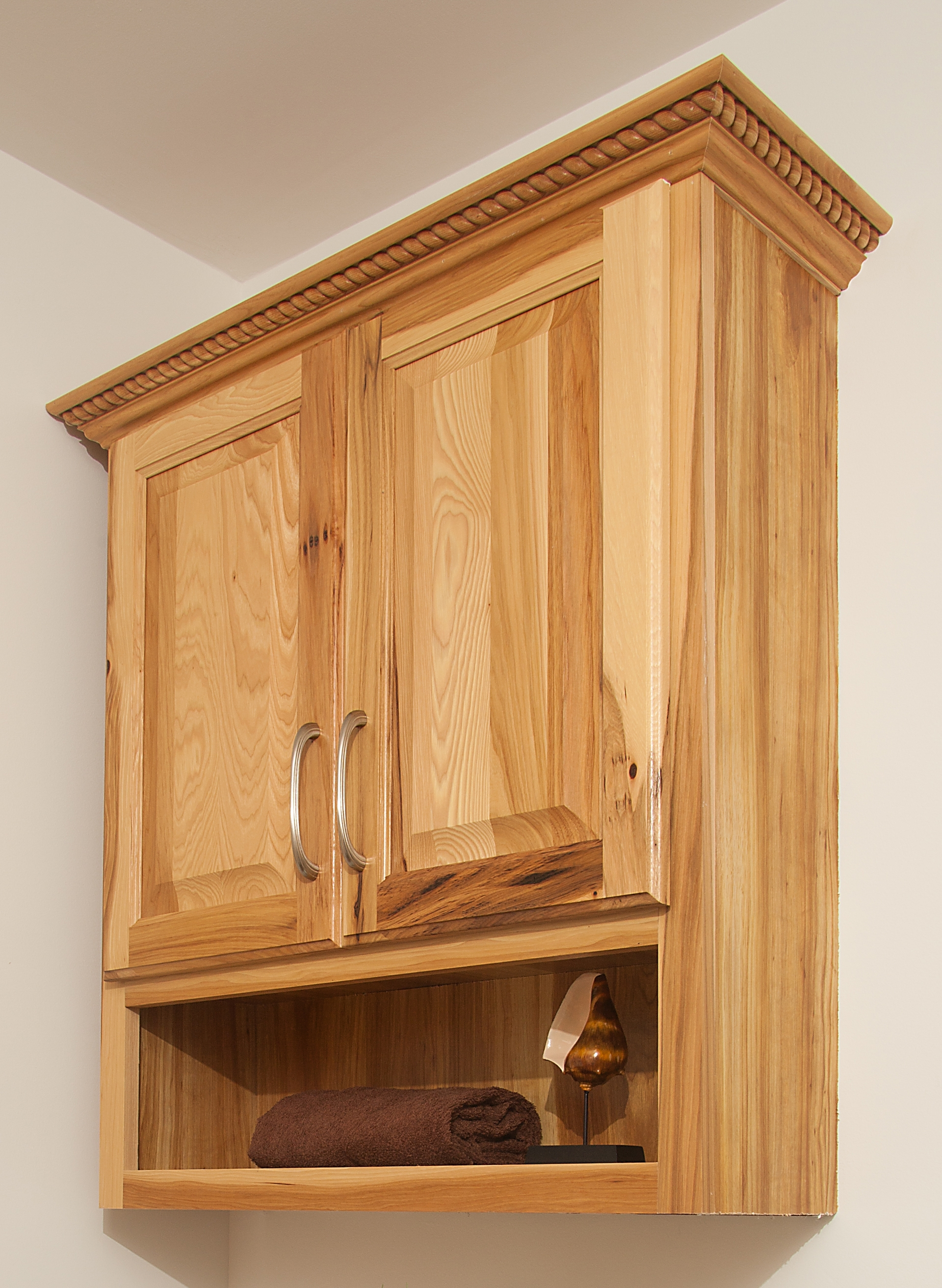 Oak Bathroom Over The Toilet Cabinets