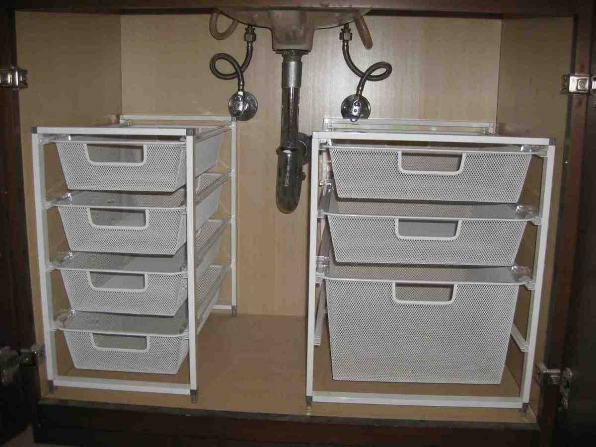 Under Cabinet Drawers For Bathroom