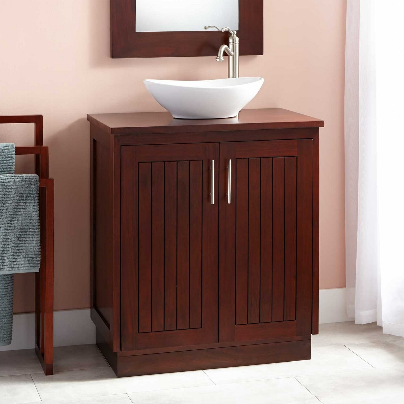 18 Inch Wide Bathroom Vanity With Sink