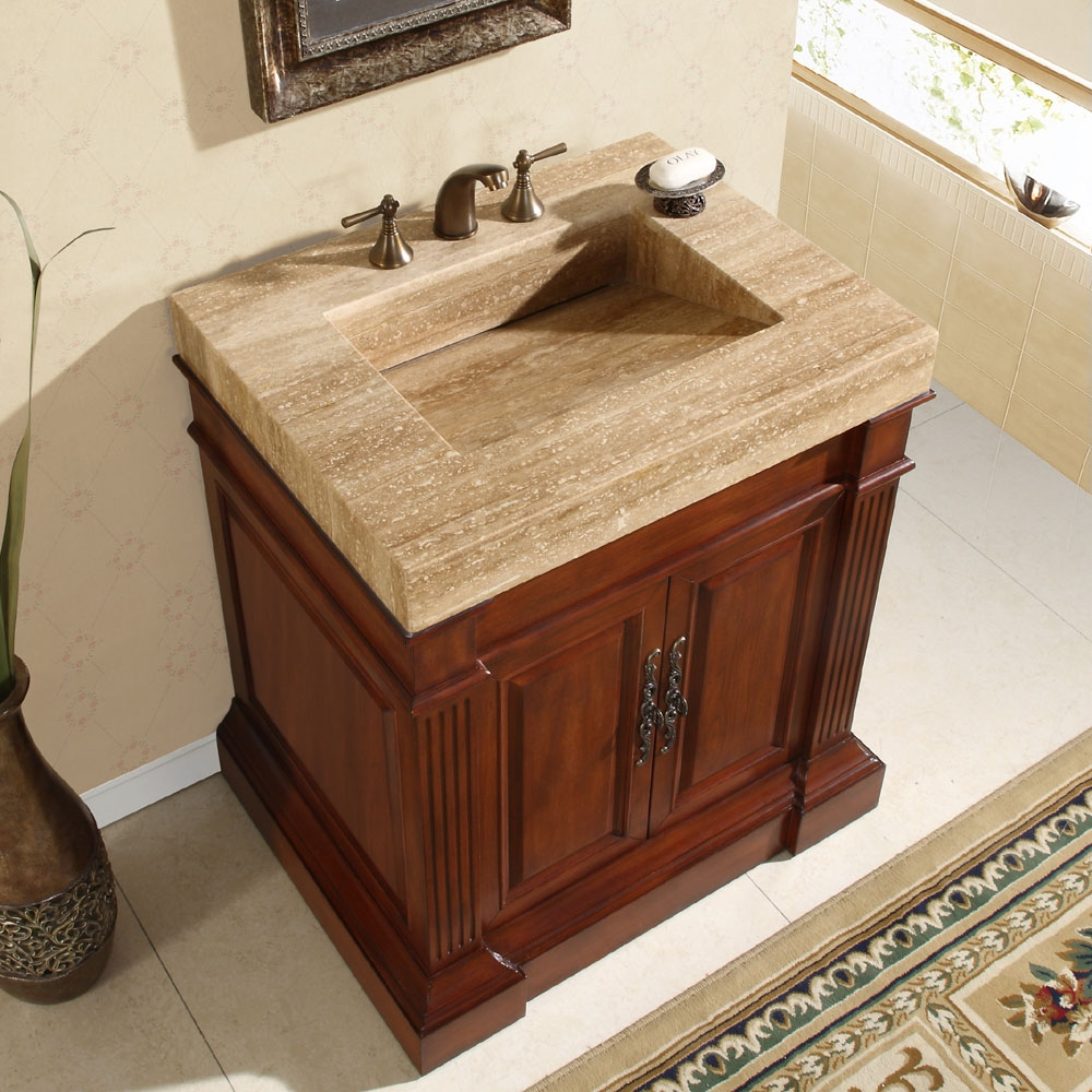 33 Inch Bathroom Vanity With Top