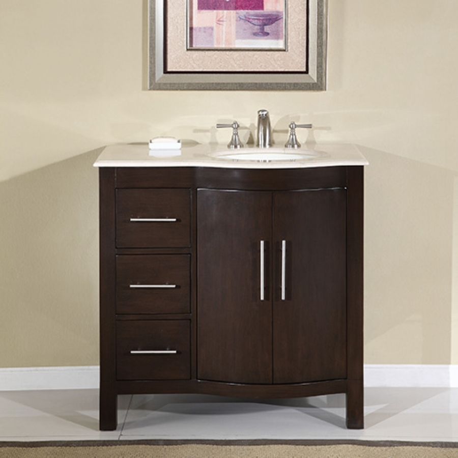 40 Inch Bathroom Vanity With Drawers