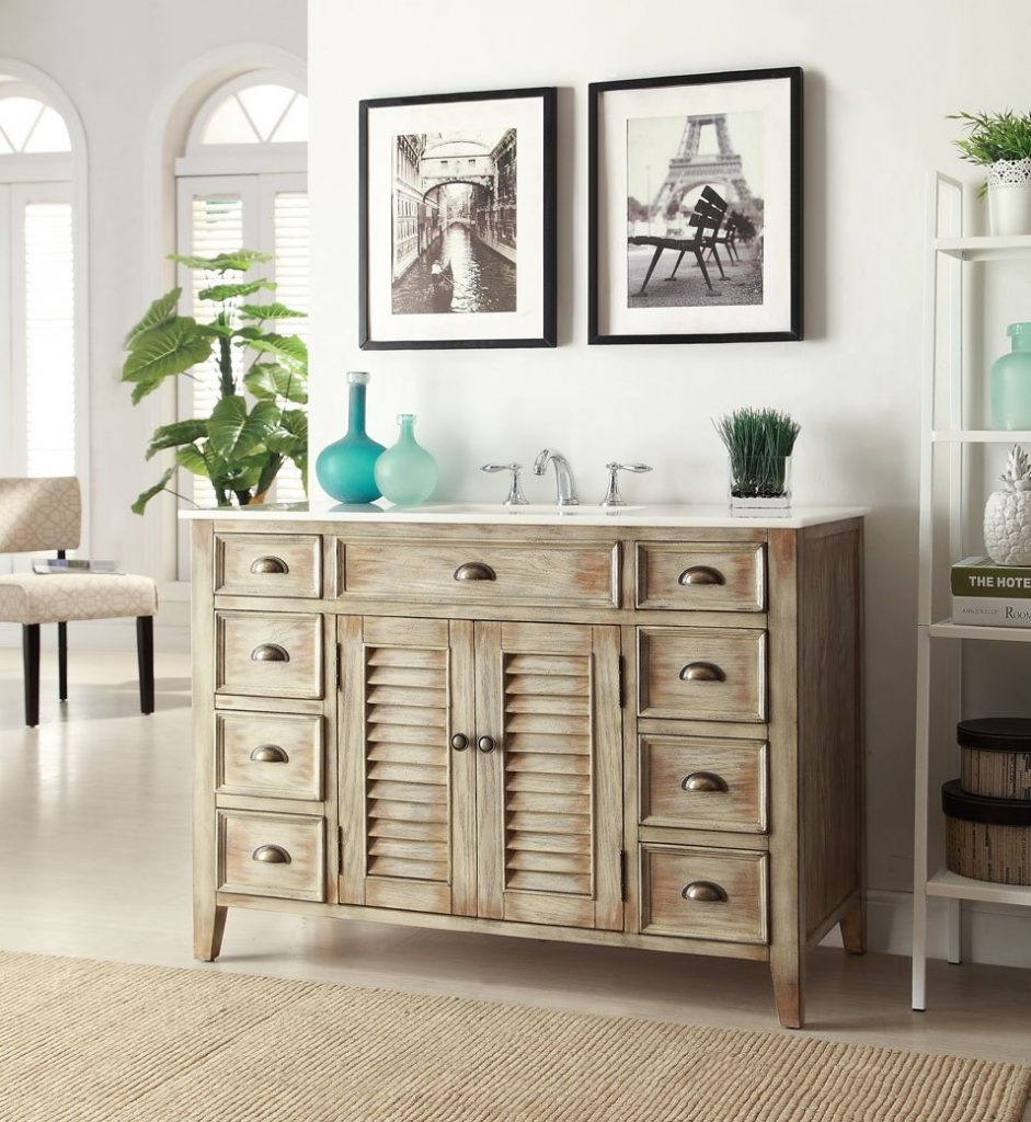 Permalink to 46 Bathroom Vanity Cabinets