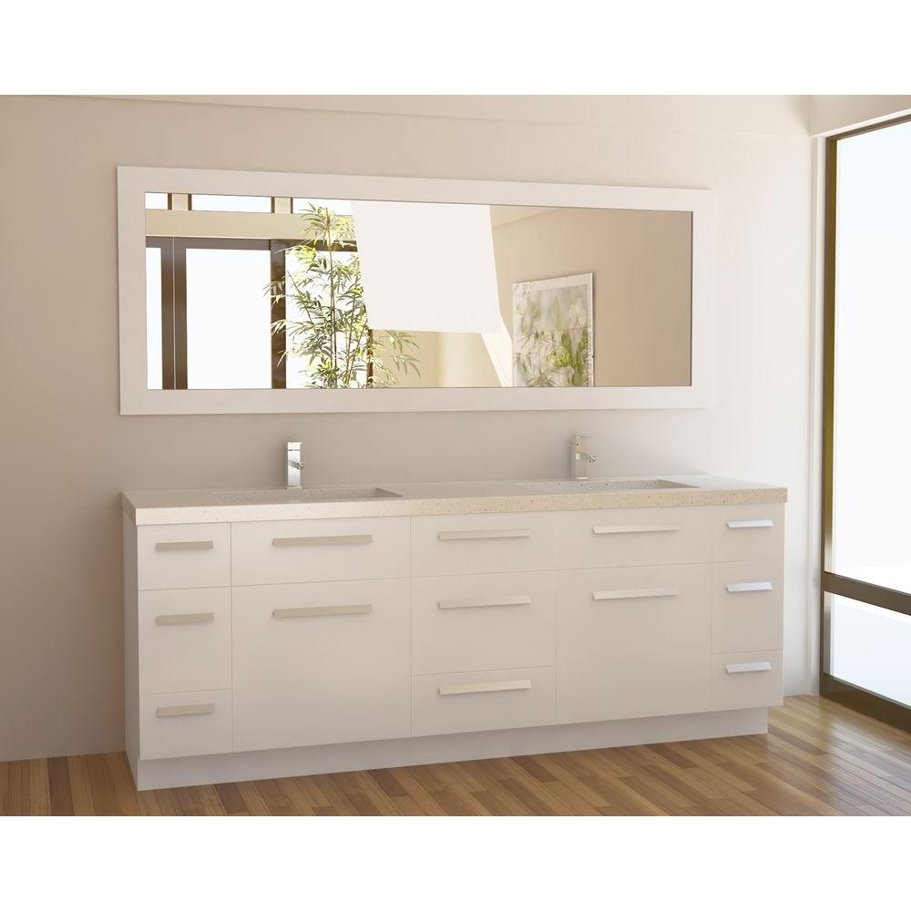 Permalink to 84 Inch Bathroom Vanity Countertop