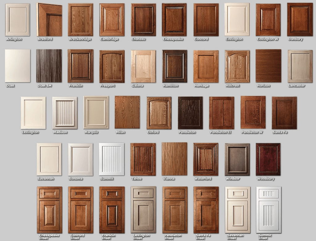 Bathroom Cabinet Door Styles
