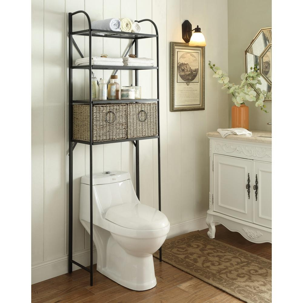 Bathroom Over-The-Toilet Storage Rack