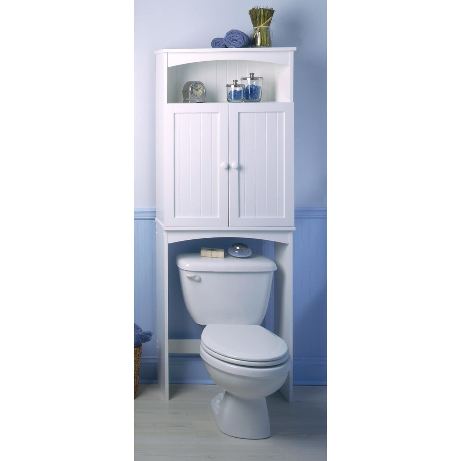 Permalink to Bathroom Space Saver With Cabinet