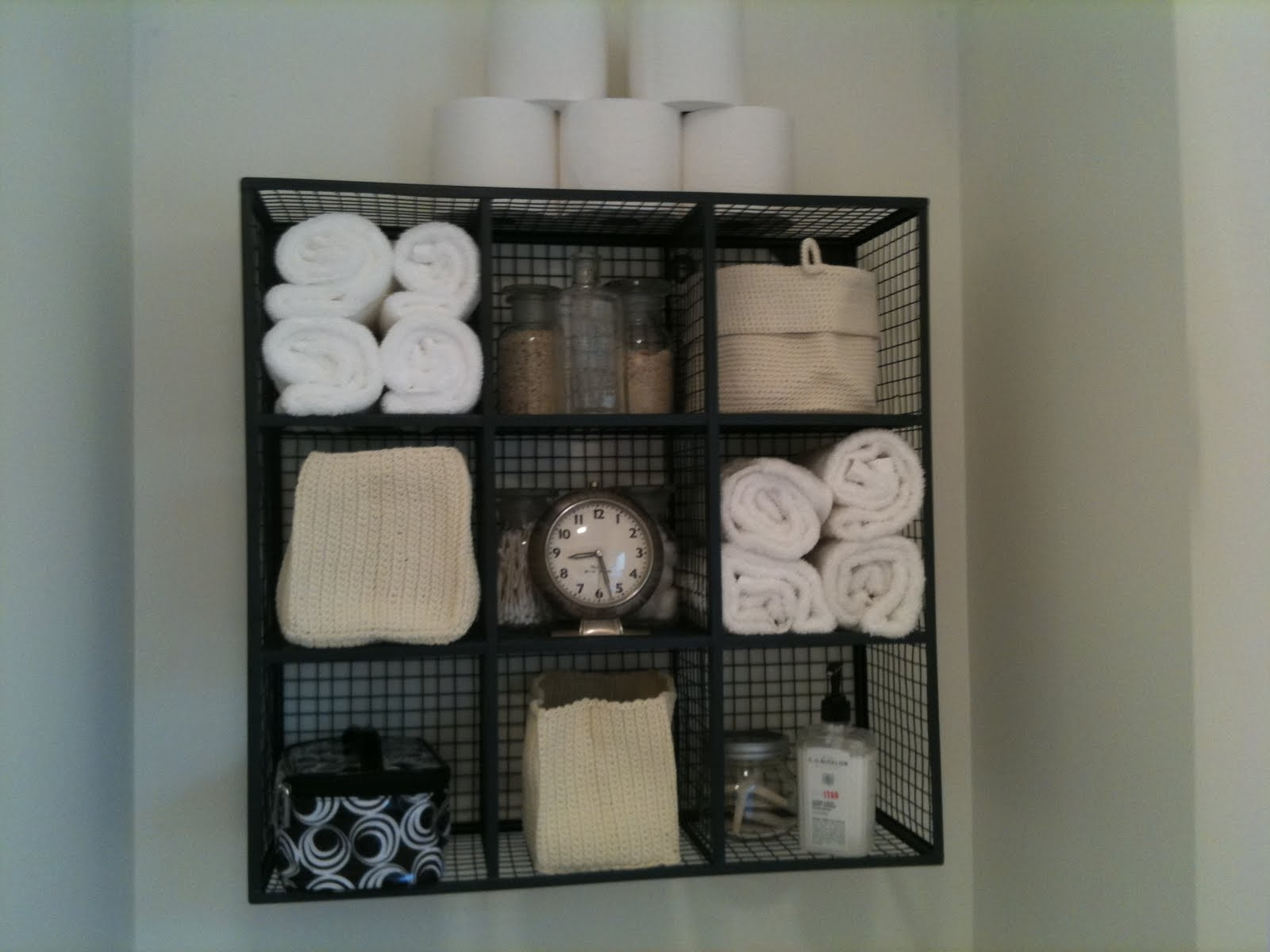 Bathroom Storage Above Toilet Ideas