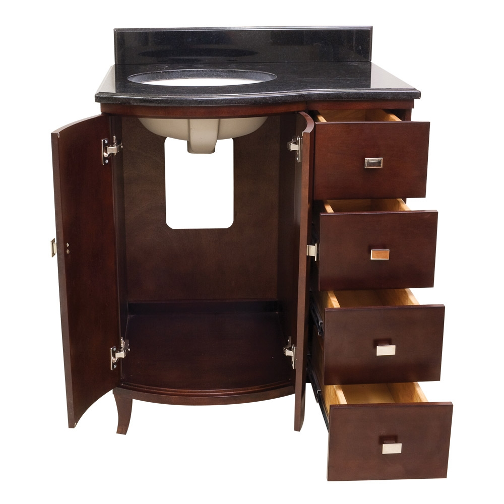 Bathroom Vanities With Drawers 30