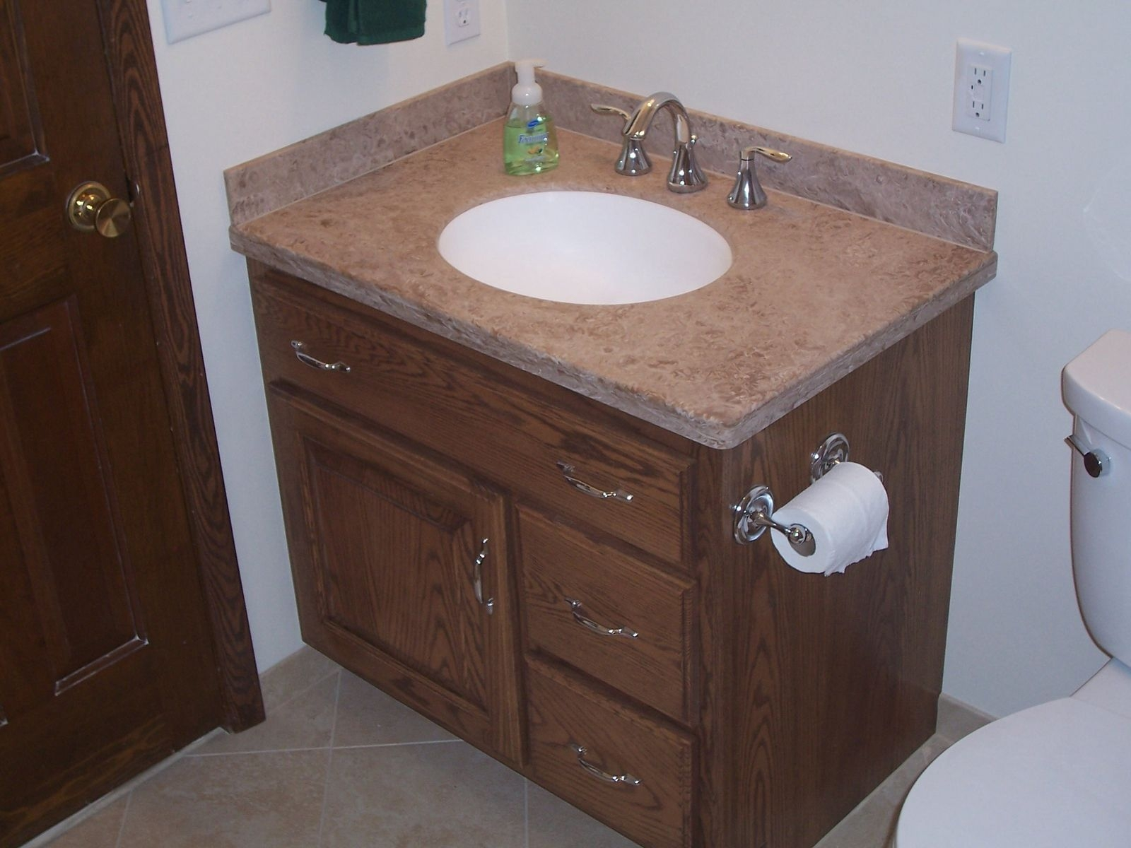Bathroom Vanities With Linen Cabinets