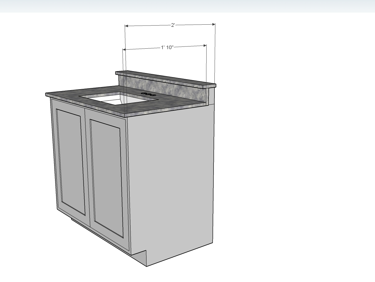 Bathroom Vanity Cabinet Depth