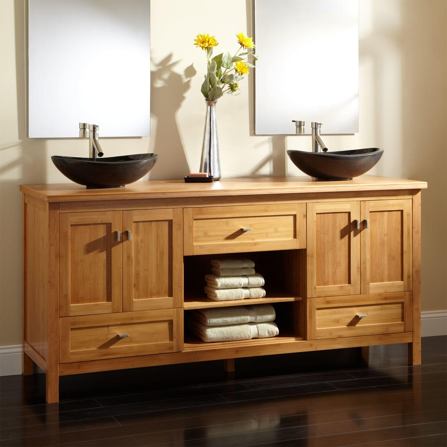 Bathroom Vanity Cabinet With Topbamboo vanities bathroom vanities signature hardware